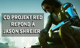 Cyberpunk 2077: CD Projekt Red répond à Jason Schreier et se défend