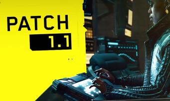 Cyberpunk 2077 : le premier gros patch 1.1 est déployé, voici la liste des correctifs