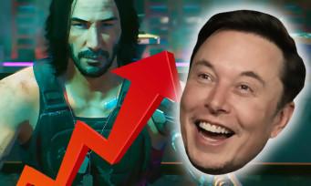 Cyberpunk 2077 : Elon Musk crie son amour pour le jeu, l'action en bourse explos
