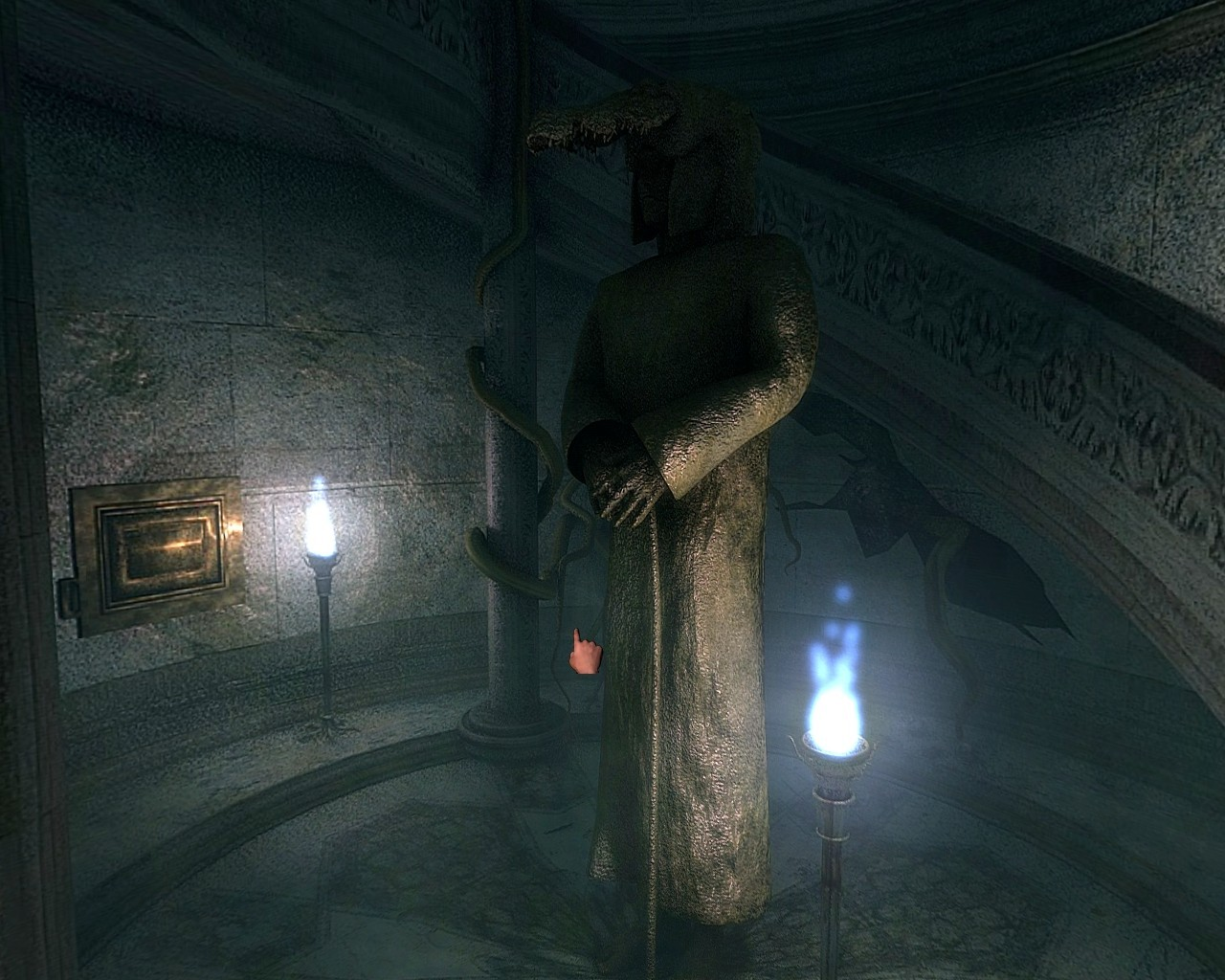 darkness within a la poursuite de loath nolder