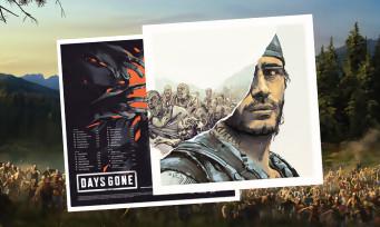 Days Gone : l'OST arrive dans un bien joli vinyle, images et informations