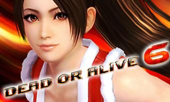 Dead or Alive 6 : la charmante Mai Shiranui de KOF confirmée, mais pas que