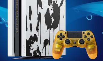 Death Stranding : la PS4 Pro collector se montre en vidéo