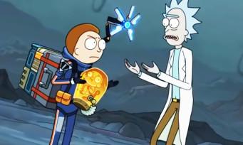 Death Stranding : un sport TV génial avec Rick et Morty !