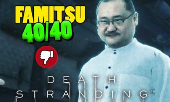 Death Stranding : le patron de Famitsu dans le jeu, le 40/40 fait polémique
