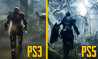 Demon's Souls : une vidéo compare le remake avec le jeu de 2009