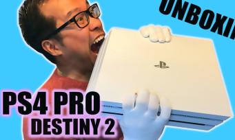 PS4 Pro : notre unboxing de la console collector Destiny 2