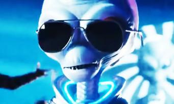 Destroy All Humans! : un trailer avec du Rammstein pour le superbe remake
