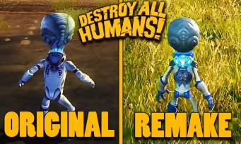 Destroy All Humans! : une vidéo compare le remake au jeu original !