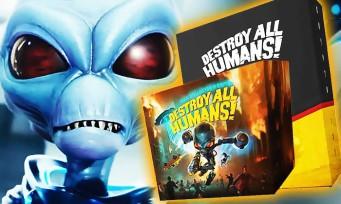 Destroy All Humans! : voici les 2 éditions collectors à 150 et 400€