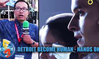 Detroit Become Human : on a vu une nouvelle démo avec David Cage