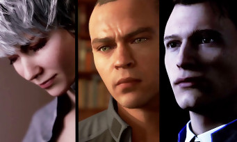 Detroit Become Human : trailer de gameplay des 3 humanoïdes
