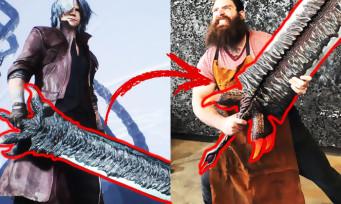 Devil May Cry 5 : l'épée Dante recréée, c'est impressionnant !