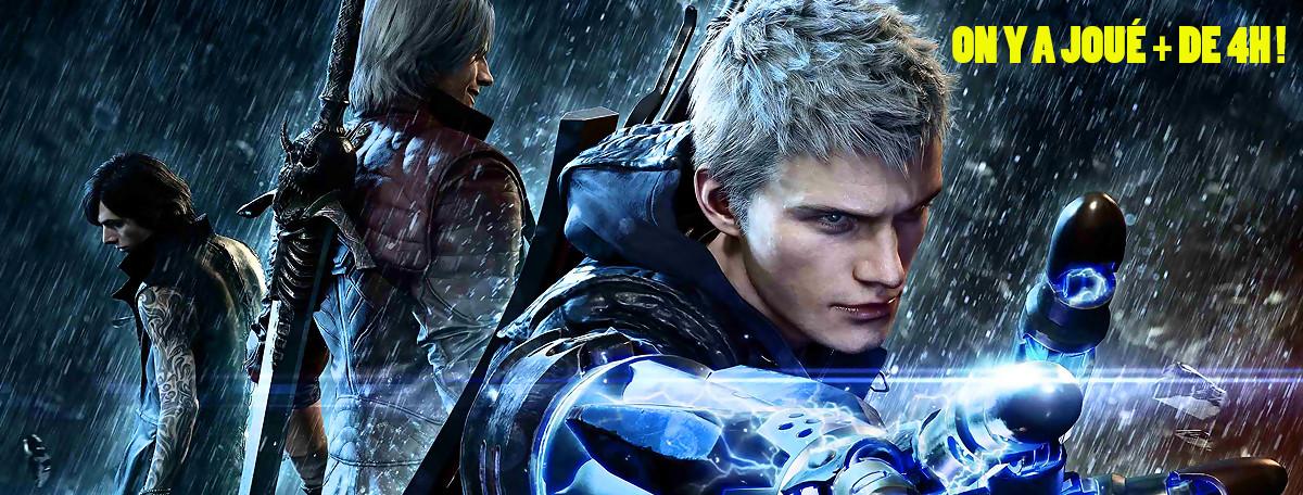 Devil May Cry 5 : on a joué avec Nero, Dante et V, le meilleur épisode ?