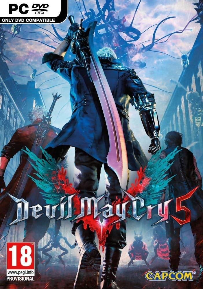 Devil May Cry 5 Un Nouveau Wallpaper Bien Stylé Pour Accompagner Lost