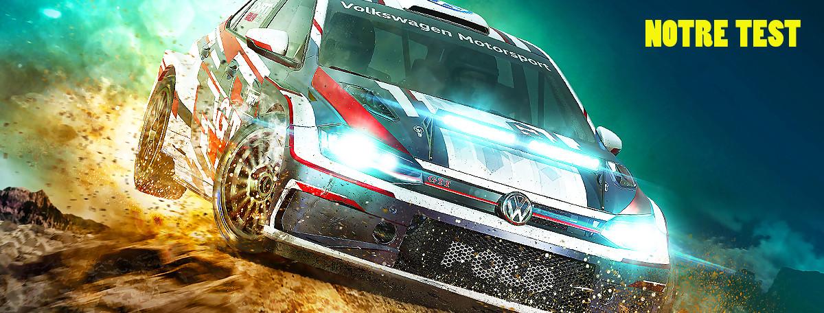 Test DiRT Rally 2.0 : plus aboutie mais moins complète, une suite indispensable