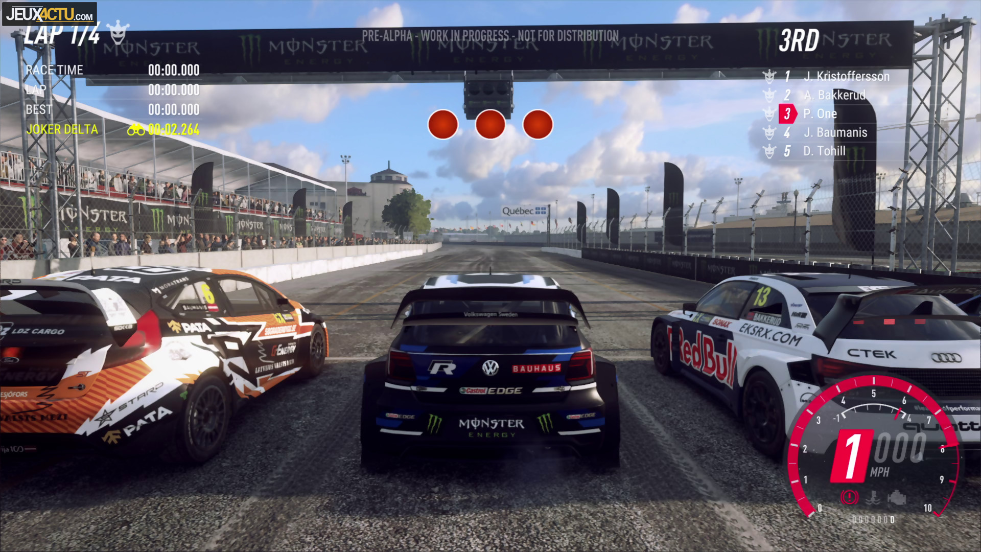 dirt rally 2 0 on y a jou sur ps4 pro de pures. Black Bedroom Furniture Sets. Home Design Ideas