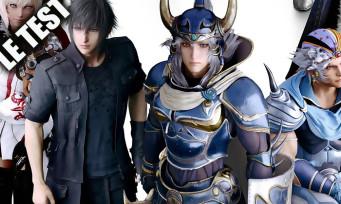 Test Dissidia Final Fantasy NT : le jeu de baston qui était brouillon