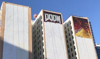 DOOM Eternal : la fresque murale pour l'E3 2019 est quasi terminée