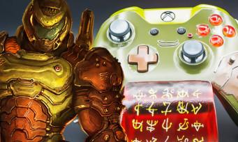 DOOM Eternal : une manette Xbox One à l'effigie du doom slayer