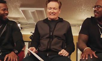 DOOM : quand Conan O'Brien fait une partie avec deux stars du Super Bowl