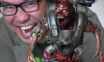 DOOM : notre unboxing du superbe collector avec la figurine du Revenant