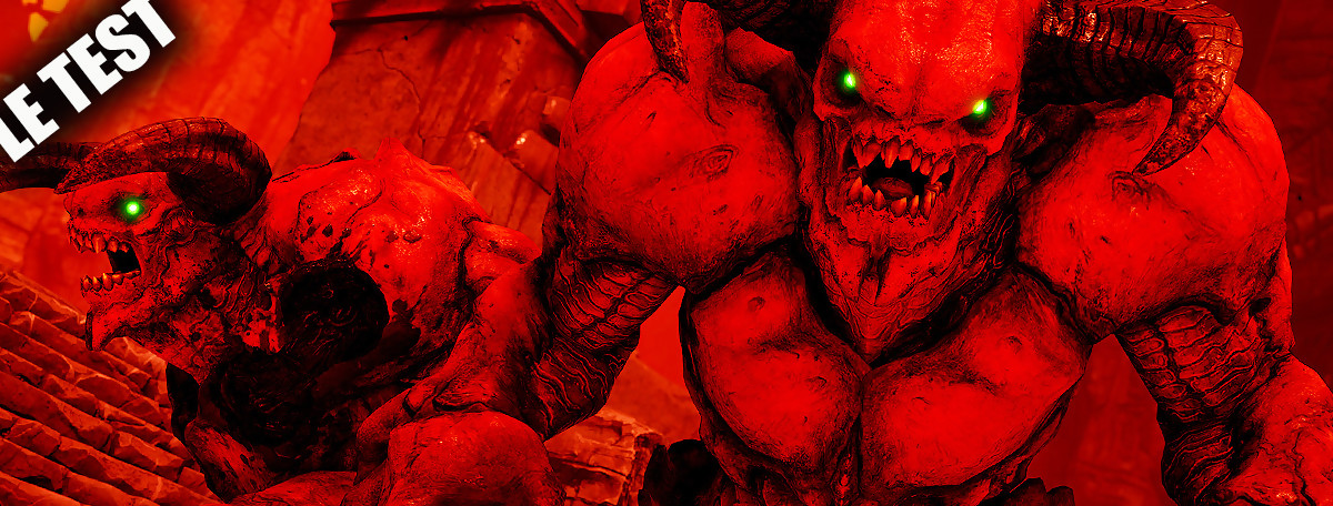 Test DOOM sur Nintendo Switch : du bon frag à emporter ?