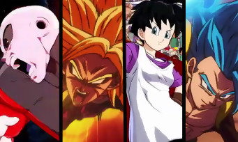 Dragon Ball FighterZ : trailer de Jiren, Super Broly, Videl et Gogeta Blue
