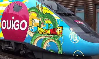 Dragon Ball Broly : Bandai Namco fait habiller des TGV aux couleurs du film