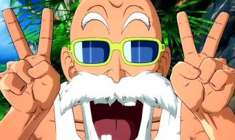 Dragon Ball FighterZ : Tortue Géniale, Kamé Sennin, Master Roshi gameplay