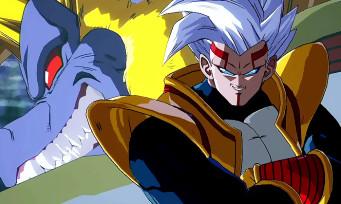 Dragon Ball FighterZ : gameplay de Super Baby 2 et sa transformation