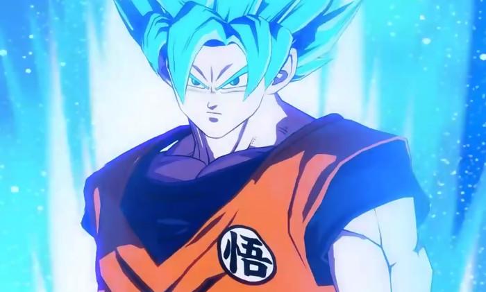 Dragon ball fighterz du gameplay avec goku super saiyan blue - Photo de dragon ball z ...