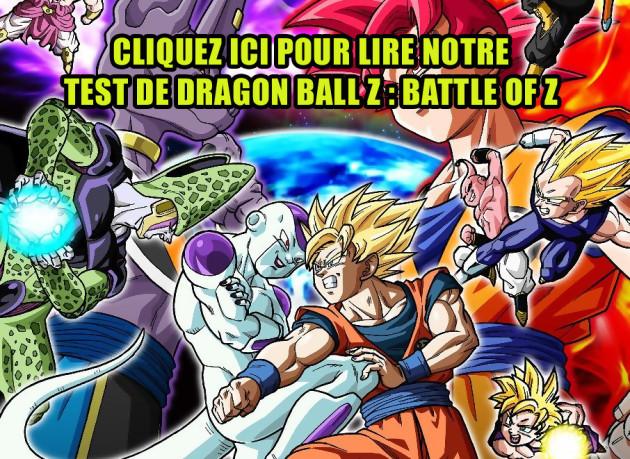 Dragon Ball Z : Battle of Z
