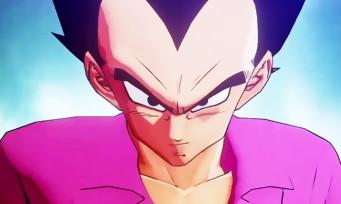 Dragon Ball Z Kakarot : un trailer de gameplay avec Vegeta