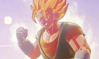 Dragon Ball Z Kakarot : Gotenks vs Vegito dans une vidéo sur Nintendo Switch