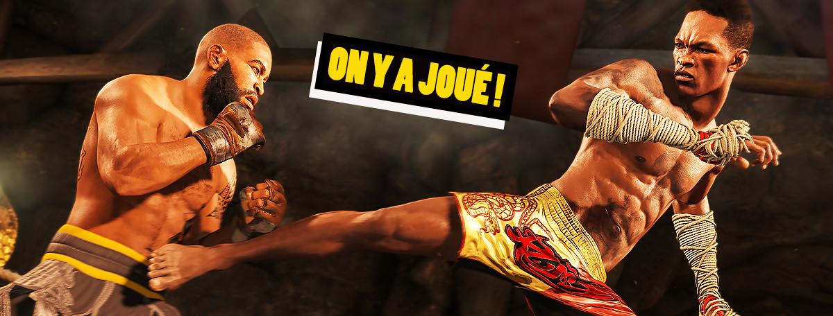 UFC 4 : on a filé nos premières mandales et ça déboite des mâchoires !