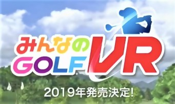 Everybody's Golf VR : trailer de gameplay Tokyo Game Show 2018