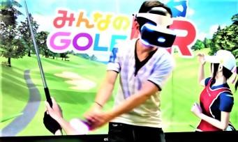 Everybody's Golf VR : le jeu arrivera au printemps 2019 !