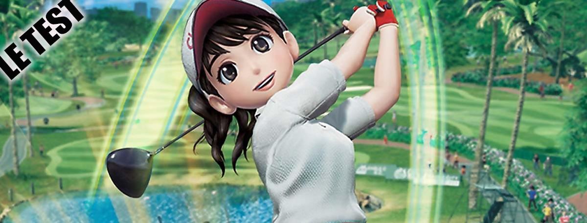 Test Everybody's Golf sur PS4 : le golf à portée de tous