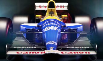 F1 2017 : trailer de gameplay des Williams-Renault mythiques