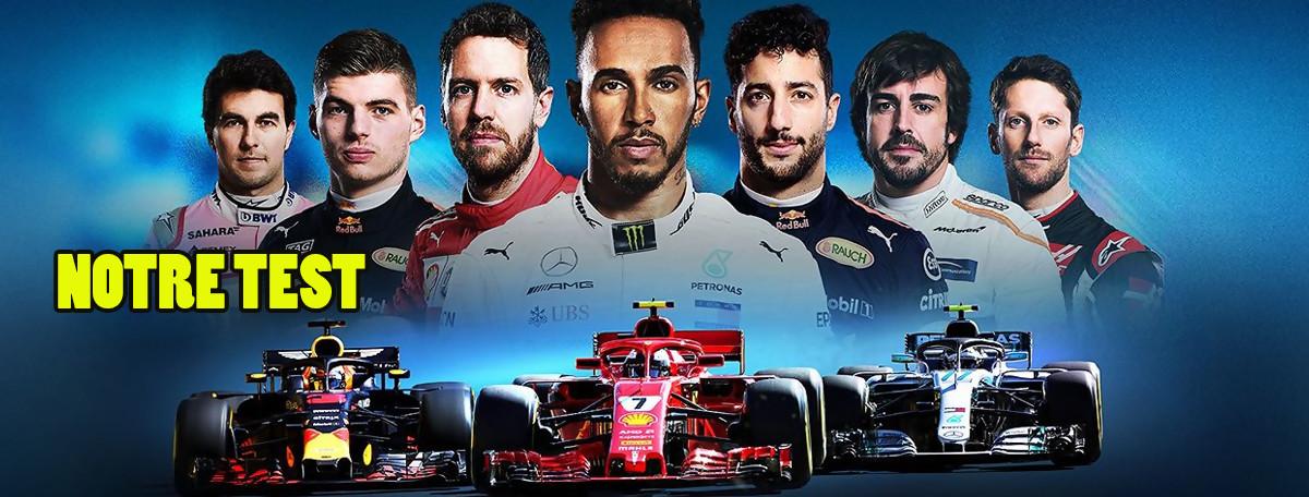 Test F1 2018 (PS4) : encore une meilleure tenue de route ?