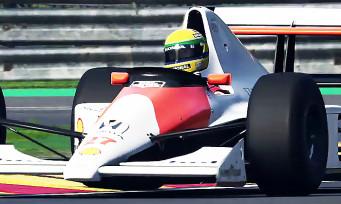 F1 2019 : Prost et Senna seront dans le jeu, une vidéo de fou !