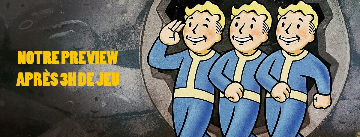 Fallout 76 : on y a joué 3h, faut-il s'inquiéter du tout multi ?