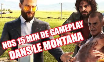 Far Cry 5 : 15 min de gameplay maison pour se balader dans le Montana