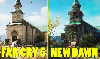 Far Cry New Dawn : une vidéo compare la map avec celle de Far Cry 5