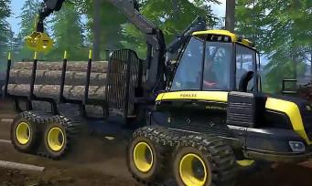Farming Simulator 15 : une nouvelle vidéo pour découper des arbres