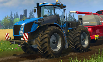 Farming Simulator 15 : le trailer sur PS4 et Xbox One