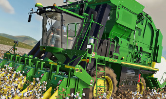 Farming Simulator 19 : la récolteuse de coton John Deere est là