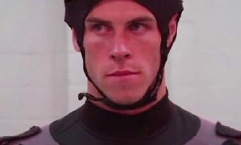 FIFA 14 : Gareth Bale en pleine séance de motion capture