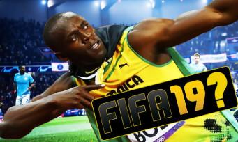 FIFA 19 : Usain Bolt rajouté en tant que perso jouable ? EA en parle